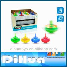 Lighting and Musical Flashing Peg Top Toy