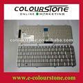 Para hp dv5 dv5-1000 servicio de color plata y sp distribución de teclado del ordenador portátil, teclado del cuaderno