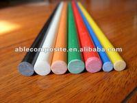 Pultrusion high strength flexible fiber glass solid Bar