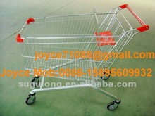 European Type Shopping Cart Supermarket Trolley Shopping Trolley Hand Trolley