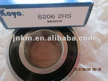 Original Quality KOYO Motorcycle Bearing 6206 2RS /Deep Groove Ball Bearing 6206 2RS