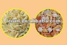 fried potato pellets snacks machine