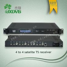4routes LNB FTA digital satellite receiver, broadcast equipment