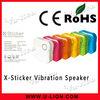 Hot seller Mini vibration speaker/Music box speaker x-sticker