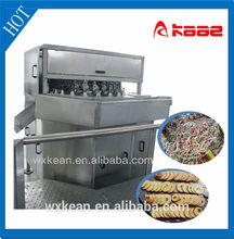Apple peeling/coring/segmenting /cutting machine manufactured in Wuxi Kaae