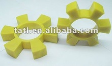Yellow flexible jaw coupling part