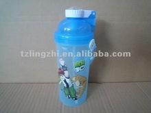 Plastic water bottle/kettle/canteen 420ml
