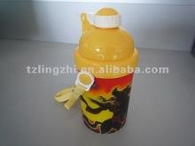 3D design Plastic water bottle/kettle/canteen 400ml