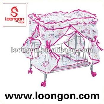 Loongon baby doll stroller pram toys for girls