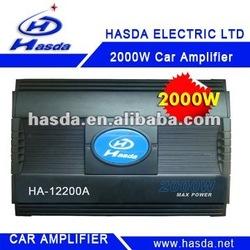 2000w charming car amplifier speaker hot selling