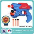 سوبر باردة الانفجارانفجار رغوة بندقية نبلةإيفا الهدف مع المدافع لعبة أطفال بلاستيكية