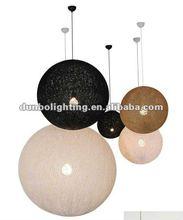 2012 Hot Sell Room Hemp Rope Pendant Lamp
