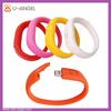 Unique Design Bracelet 3.0 usb flash disk,pvc silicone wrist strap usb flash drive
