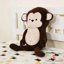 monkey cushion gift cushion for leaning on