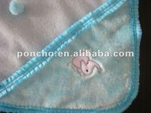 Printed Woolen Baby Blanket