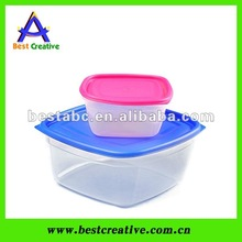Eco-Friendly plastic food container,food storage for home&organization