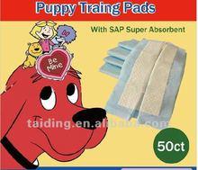2012 hot sale puppy pet wee-wee pad(40x60cm,60x60cm,60x90cm)