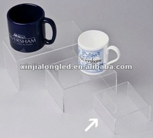 Counter Top Water Clear Acrylic Perspex Riser Acrylic Perspex Teacup Arts And Crafts Jewelry Shoes Models Display Stand