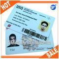 卸売工場出荷時の価格カスタマイズされた証明写真カード