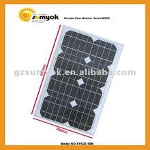 Solar cell panel mono panel 20W good price