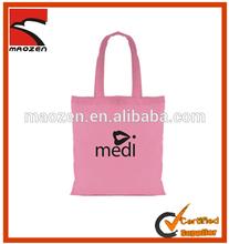 Nature cheap cotton shopping bag/cotton tote bag/cotton canvas bag