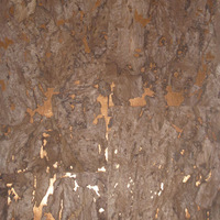 eco-friendly natural cork wallpaper for home and hotel with fashion fabric RQ-WP031