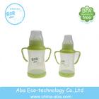 glass feeding bottle with handle baby water bottle