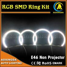 RGB angel eye headlight 5050 smd pcb led ring fog light
