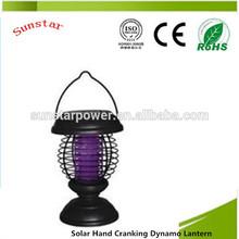Solar Hand Cranking Dynamo Lantern