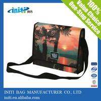 Alibaba wholesale Laminated european shoulder bag for men