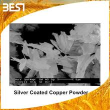 Best05SC silver coated cu powder companies