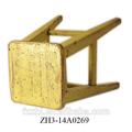 amarelo shabby jardim cadeira de madeira