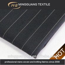 Poly rayon mens stripe uniform china fabric wholesale
