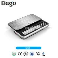 2014 Best Arrival Elegent Design Kit EMILI Kit with 1300mah Rechargeable Case China Wholesale