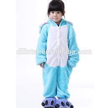 2014 Kids fleece for children Costume Sleepwear Animal Pajama