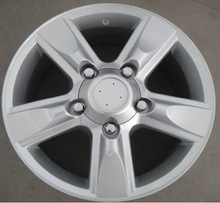 17 inch 5*150 silver cruiser car alloy wheel fit for toyota