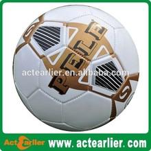 popular PVC promotional size 5 customized logo printing soccer ball