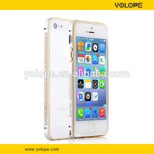 Unique style for iphone 3gs bumper case,aluminum alloy blade metal frame bumper case