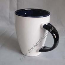 Factory Price Good Quality Hot Selling Logo Ceramic 3 Handle Mug