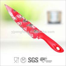 2014 caliente la venta al por mayor de China fabrica antiadherente del cuchillo del cocinero, Swiss cuchillo