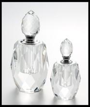 2015 new design perfume glass bottle,crystal perfume bottle