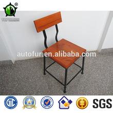 Wooden metal garden furniture chair