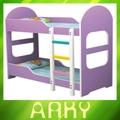 hotsale okul mobilya renkli ahşap çocuk yatağı iki çocuk için