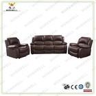 WorkWell cheap luxury PU leather living room furniture sofa set Kw-Fu11(2)b