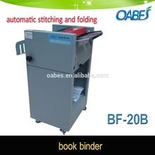 Paper folder machine booklet folder and stitcher saddle stitching machine book maker machine paper folding machine