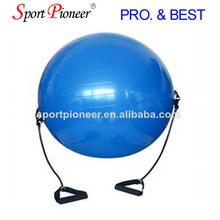 Bola de yoga con banda de potencia profesionales de yoga bola de venta al por mayor anti aptitud de la explosión bola