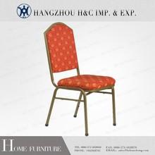 Hc-d018 tecido vermelho antique cadeira feita na china