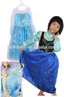 NEW FROZEN DRESS ELSA ANNA PRINCESS DRESS KIDS COSTUME PARTY FANCY SNOW QUEEN Size 100-140cm WHOLESALE