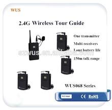 2.4Ghz Wireless Translation Headphones Interpretation System for Conference