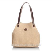 Lelany 2014 Korean style fashion women hobo bag straw bag making
